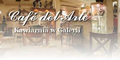 Cafe del Arte w Krzywym Domku w Sopocie